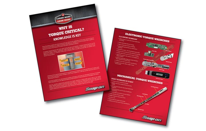 Snap-On Learn More Earn More Informational Advertisement