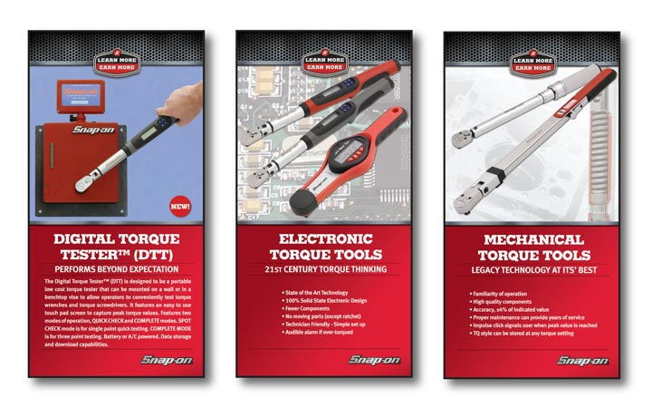 Snap-On Torque Tools Packaging Illustration