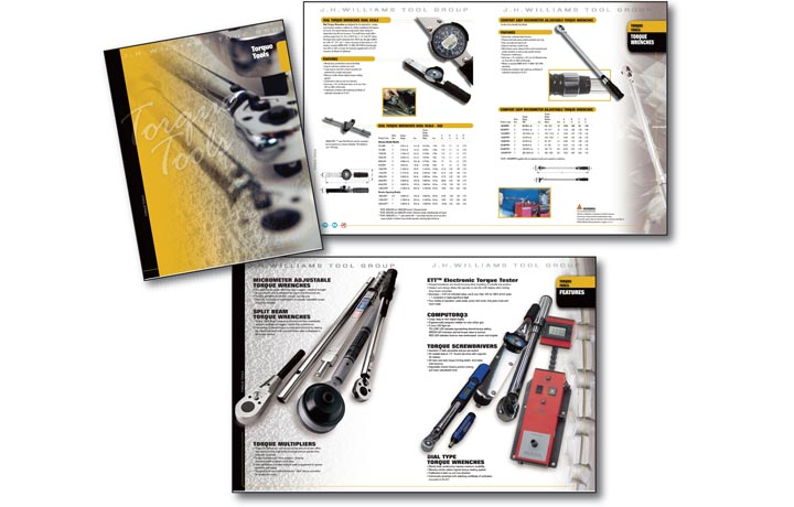 J H Williams Torque Tool Group Advertising Print