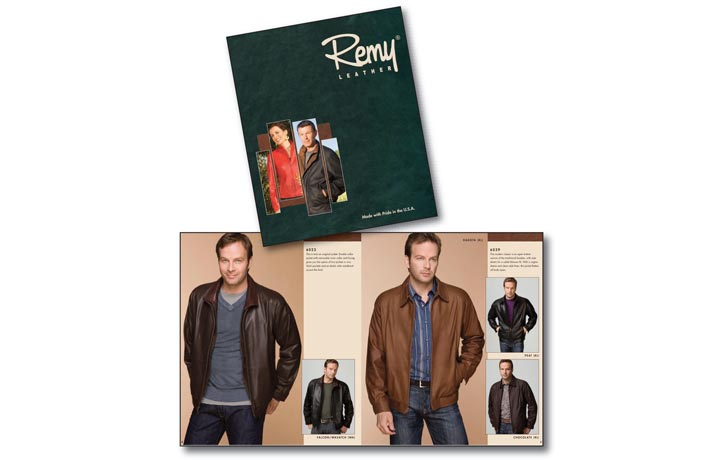 Remy Leather Printed Catalog Image
